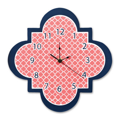 Trend Lab® Multi Quatrefoil Wall Clock