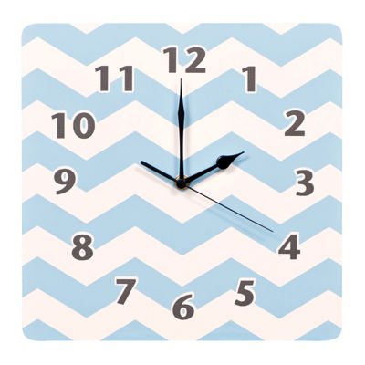 Trend Lab® Blue Sky Chevron Wall Clock