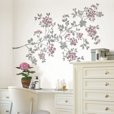 Cherry Blossom 17-pc. Wall Decal Set