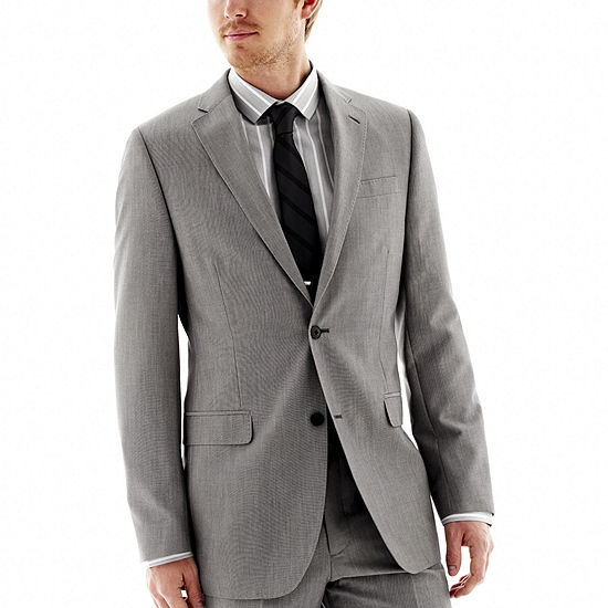 JF J. Ferrar® End-on-End Suit Jacket - Slim Fit