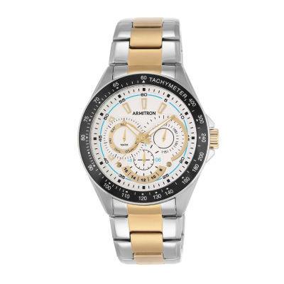 Armitron® Mens White Titanium Bracelet Watch