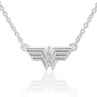 DC Comics® Wonder Woman Sterling Silver Pendant Necklace
