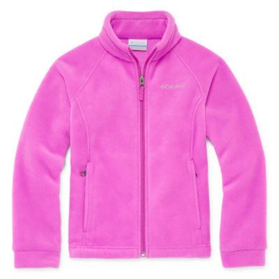 Columbia® 3 Lakes Fleece Jacket - Toddler Girls 2t-5t