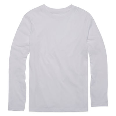 Arizona Long-Sleeve Solid Tee- Boys 8-20
