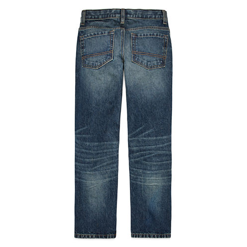 Arizona Straight-Fit Jeans - Boys 8-20, Slim and Husky