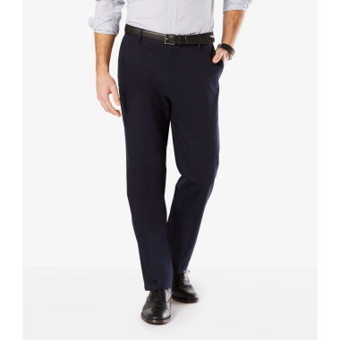 Dockers® Signature Stretch Flat Front Pants-Big & Tall