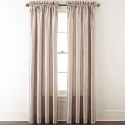 Plaza Thermal Interlined Room Darkening Rod-Pocket Curtain Panel