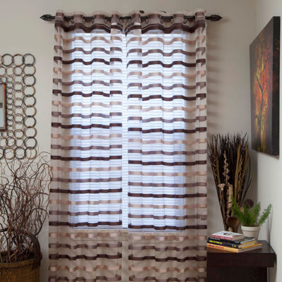 Sonya Grommet-Top Curtain Panel
