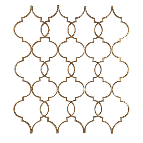 Zakaria Gold Wall Decoration