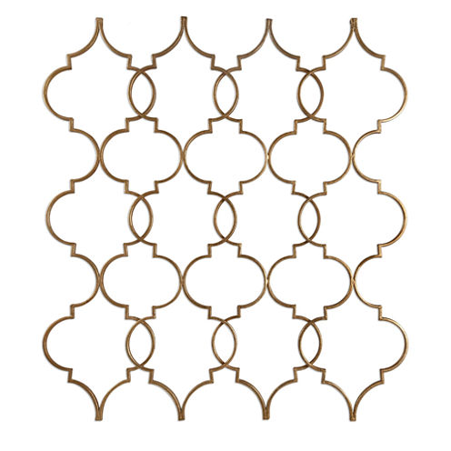 Zakaria Gold Wall Decoration