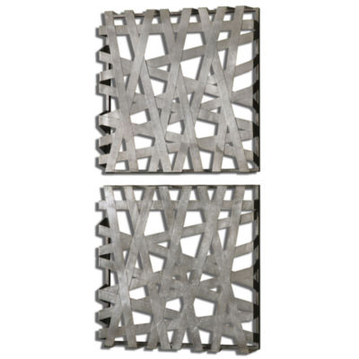 Set of 2 Alita Squares Wall Décor