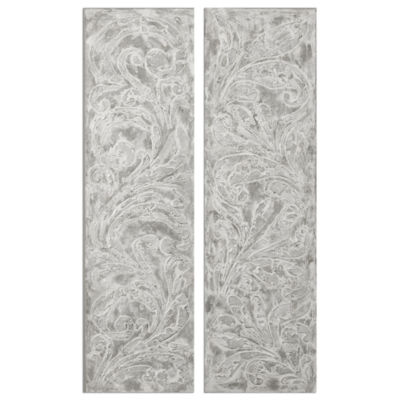 Set of 2 Frost on the Window Wall Art