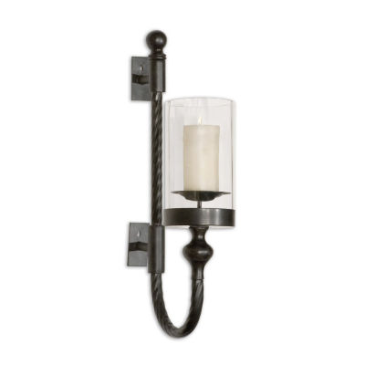 Garvin Twist Candle Wall Sconce