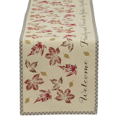 Design Imports Gather Together Table Runner