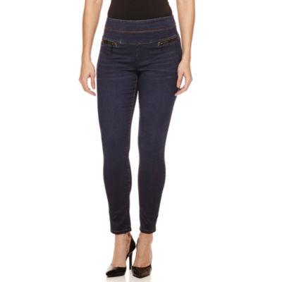 Bisou Bisou® Stacked Waist Skinny Jeans