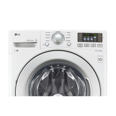 LG ENERGY STAR® 4.5 cu.ft. Ultra-Large Capacity Front-Load Washer with Coldwash™ Technology