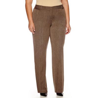 """Worthington® Curvy Fit Trouser Pants (32""""/30"""" Short) - Plus"""