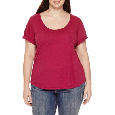 a.n.a® Relaxed Fit Boyfriend T-Shirt - Plus