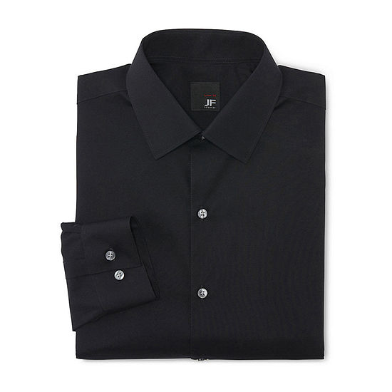 JF J. Ferrar Mens Easy-Care Super Slim Dress Shirt