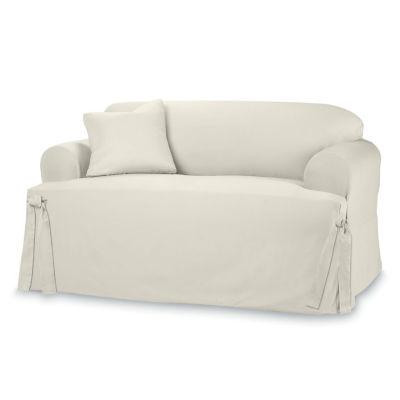 SURE FIT® Cotton Duck 1-pc. Sofa Slipcover