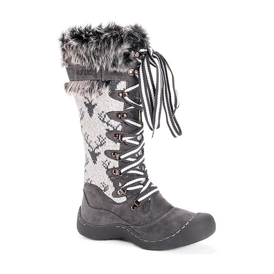 Muk Luks Womens Gwen Waterproof Snow Boots