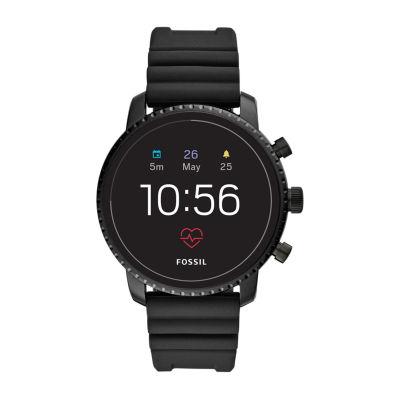 Fossil Q Gen 4 Mens Black Smart Watch-Ftw4018
