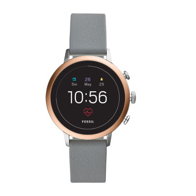 Fossil Smartwatches Unisex Gray Smart Watch-Ftw6016