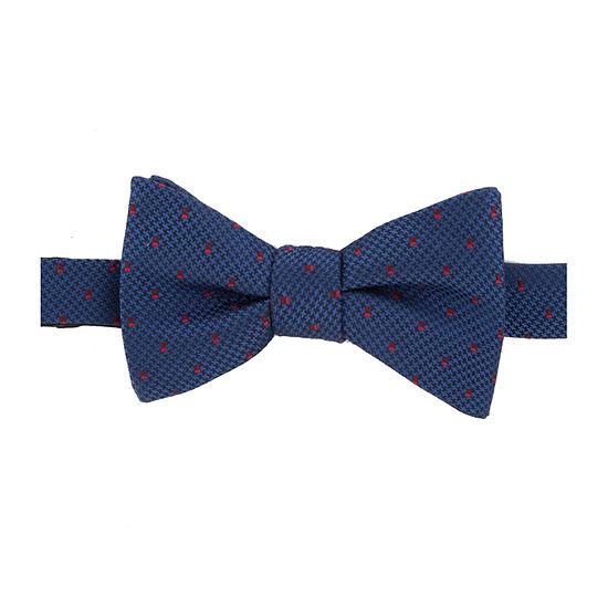 Stafford Neat Pre-Tied Geometric Bow Tie