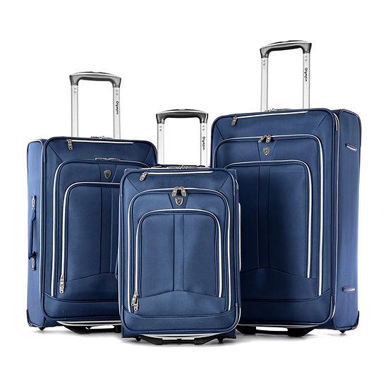 Olympia Hamburg 3-pc Luggage Set
