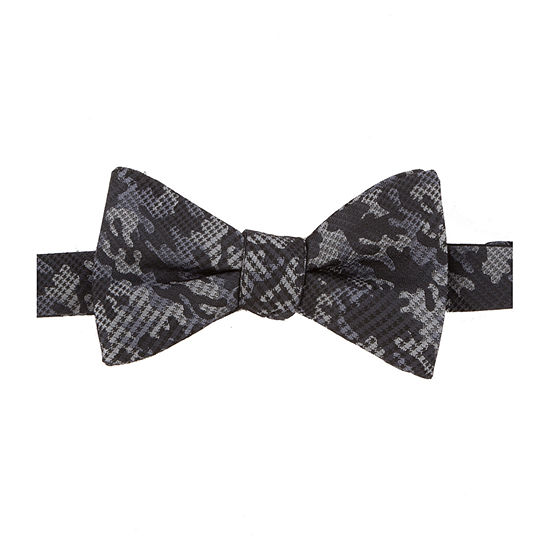 Stafford  Pre-Tied Abstract Bow Tie