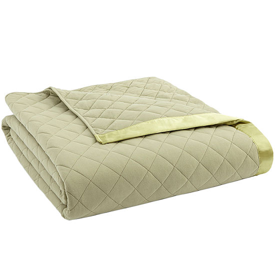 Micro Flannel® Quilted Blanket