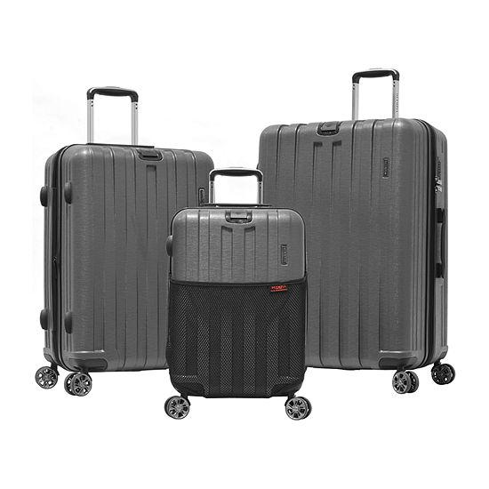 Olympia Sidewinder 3-pc Luggage Set