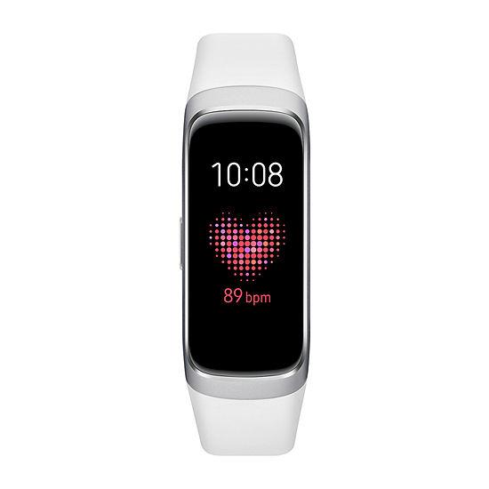 Samsung Galaxy Fit Womens Multi-Function White Smart Watch-Sm-R370nzsaxar