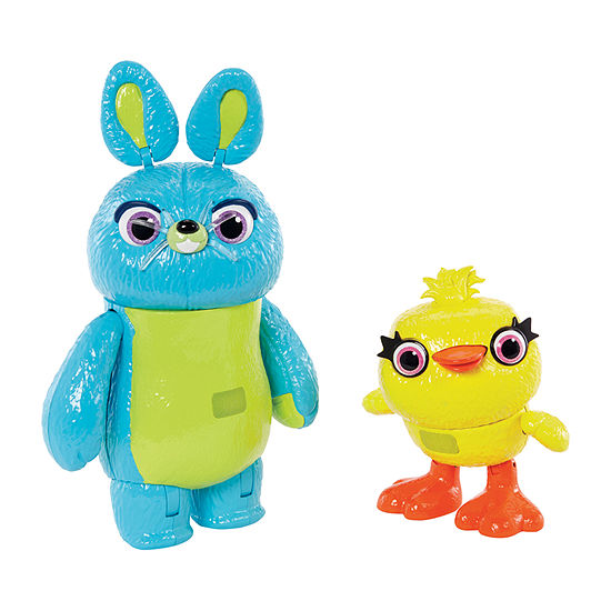 Mattel Disney Pixar Toy Story Interactive True Talkers Bunny And Ducky 2-Pack