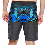 "Burnside Island Love Abstract 9"" Swim Trunks"