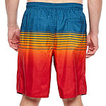 Burnside Forever Abstract Swim Trunks