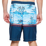 Burnside Island Love Abstract Swim Trunks