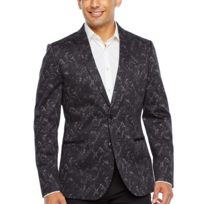 JF J.Ferrar Evening Edition Mens Stretch Slim Fit Sport Coat