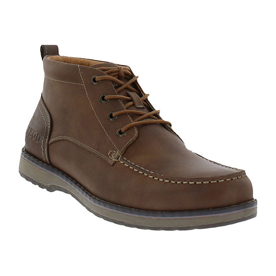 IZOD Mens Larsson Lace Up Boots