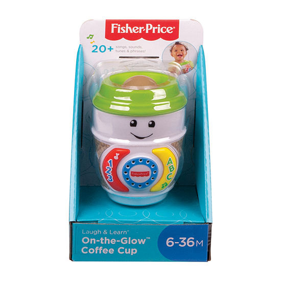 Fisher-Price Laugh N Learn On-The-Glow Coffee Cup