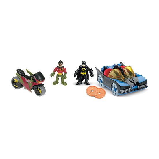 Imaginext Dc Super Friends Batmobile & Cycle