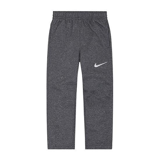 Nike Boys Performance Fleece Straight Pull-On Pants - Preschool