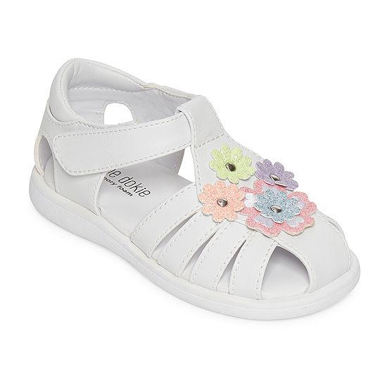 Okie Dokie Toddler Girls Mimi Strap Sandals