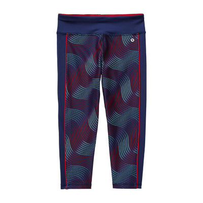 Xersion Little & Big Girls Mid Rise Capri Leggings