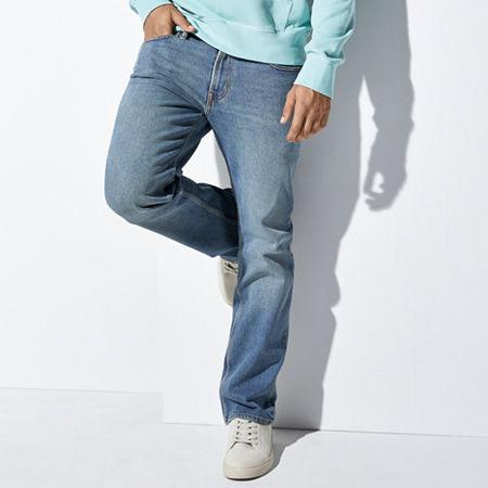 Men's Vintage Pants, Trousers, Jeans, Overalls Arizona Flex Mens Bootcut Jean 42 36 Blue $33.60 AT vintagedancer.com