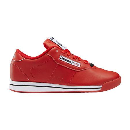 Vintage Sneakers, Retro Designs for Women Reebok Princess Womens Sneakers 8 12 Medium Red $39.99 AT vintagedancer.com