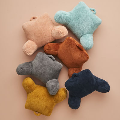 Home Expressions Fleece Plush Backrest Pillow