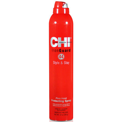 CHI® Iron Guard 44 Style & Stay Firm Hold Protecting Spray - 10 oz.