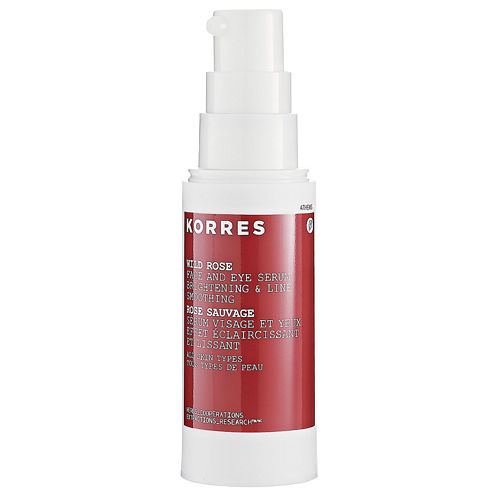 Korres Wild Rose Face And Eye Serum