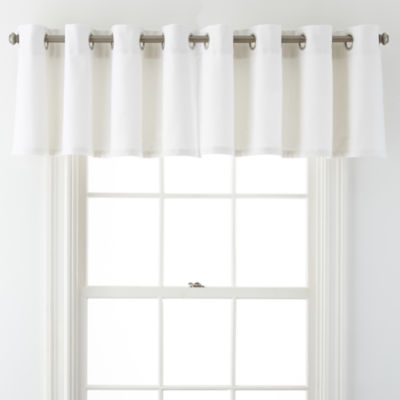 Liz Claiborne Pembroke Grommet-Top Tailored Valance